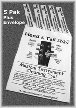 Head and Tail Stiks - 5 PAK - for international (non-USA) delivery only
