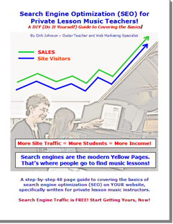 Search Engine Optimization (SEO) for Private Lesson Music Teachers