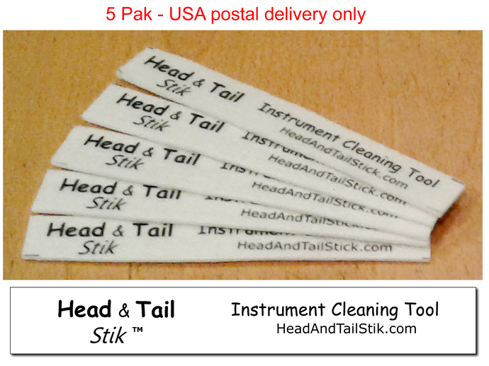 Head and Tail Stiks - 5 PAK - for USA delivery only