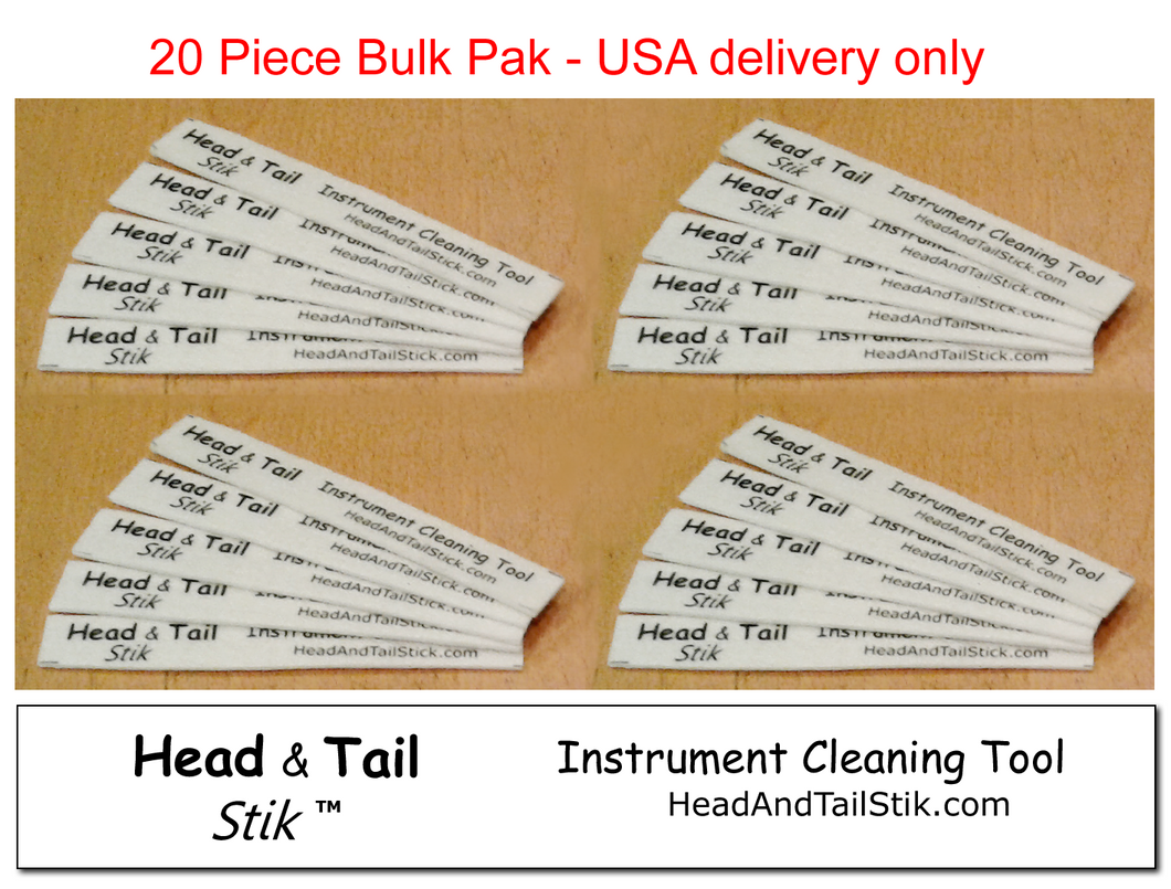 Head and Tail Stiks - BULK 20 Pieces - for USA delivery only