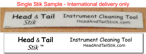Head and Tail Stik - Single Stik Sample - for International (non USA) delivery only