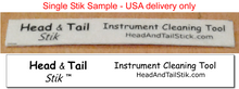 Head and Tail Stik - Single Stik Sample - for USA delivery only