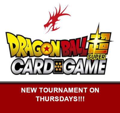 Dragon Ball Super Tournaments on Thursday