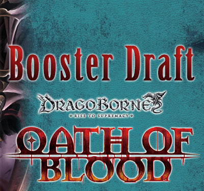 Oath of Blood Booster Draft,<br>Thursday Nov. 16th!