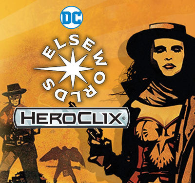 HeroClix Elseworlds<br>Release Day OP kit<br>this Saturday!