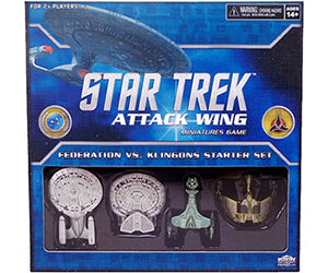 Star Trek Federation vs Klingons Starter Set