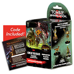 D&D icons 7: Tomb of Annihilation Booster Box