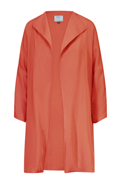 simone veste longue orange marigold devant