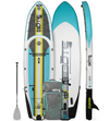 "BOTE 12' 4"" Rackham Aero Inflatable Paddle Board - Full Trax Citron"
