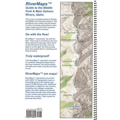 RiverMaps Guide to the Middle Fork and Main of the Salmon River