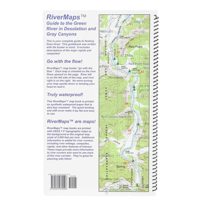 RiverMaps Guide to the Green River in Desolation and Gray Canyon