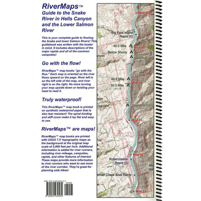 RiverMaps Guide to Hell's Canyon and Lower Salmon River