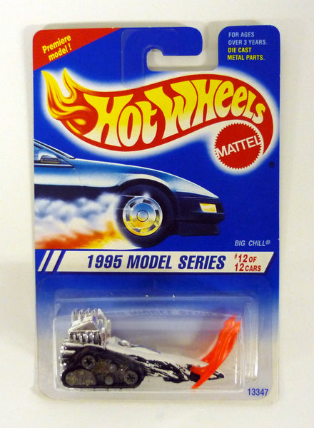 HOT WHEELS BIG CHILL #352 1995 Model Series #12 of 12 White Die-Cast Vehicle 1994