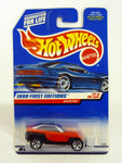 Hot Wheels Jeepster #922 1999 First Editions #17 of 26 Red Die-Cast Car 1998