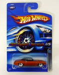 Hot Wheels 1970 Plymouth Barracuda #061 Mopar Madness #1 of 5 Orange Die-Cast Car 2005