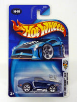 Hot Wheels 1968 Mustang #046 First Editions 34/42 Blue Die-Cast Car 2003