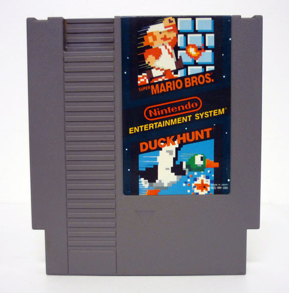 Super Mario Bros. / Duck Hunt Authentic Nintendo NES Cartridge Game Variant 1988
