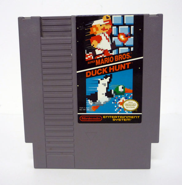 Super Mario Bros. / Duck Hunt Authentic Nintendo NES Cartridge Game 1988