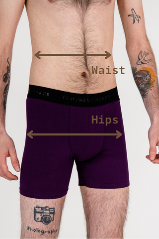 Classic Boxer Brief 5'' - How to measure