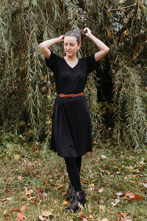 The T-Shirt Dress - TENCEL / ORGANIC COTTON