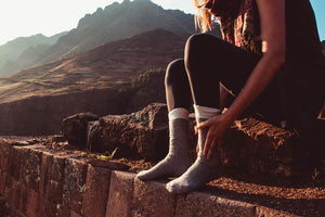 The expedition – Unisex wool socks Socks Clothes & Roads