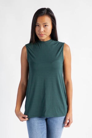 The Minimalist Camisole Top Clothes & Roads X-Small Tropical green