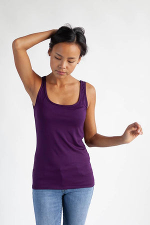 The Reversible Roundtrip Camisole Clothes & Roads X-Small Plum