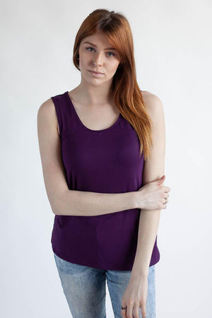 The Reversible Wanderlust Camisole Top Clothes & Roads X-Small Plum