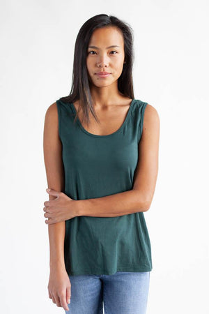 The Reversible Wanderlust Camisole Top Clothes & Roads X-Small Tropical green