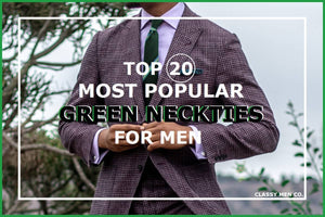 Top 20 Popular Green Ties For Men Today