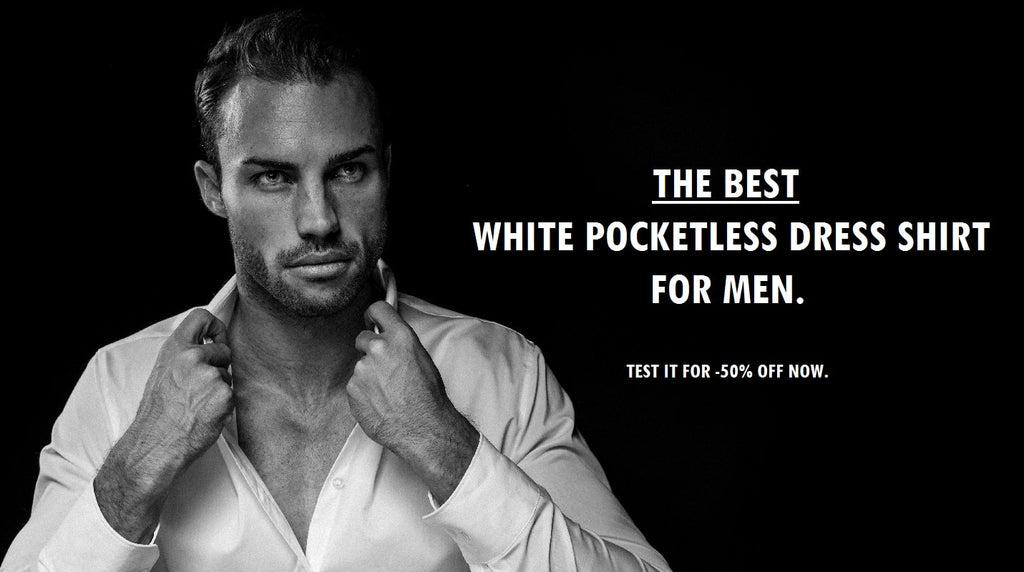 Discover The Best White Pocketless Dress Shirt
