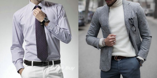 Business casual outfit for job interview - Classy Men Collection