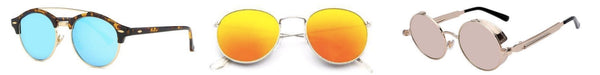 Men's Bright Mirror Sunglasses - Classy Men Collection