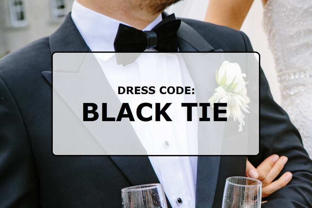 Dress code: Black tie