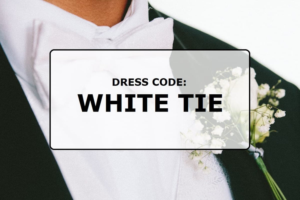 Dress code: White tie