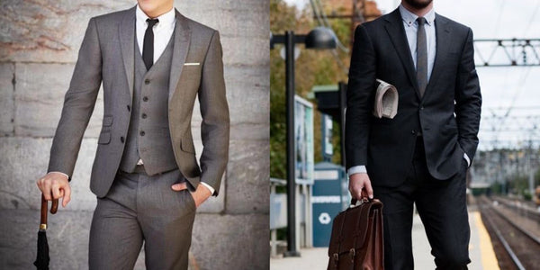 Formal outfit for job interview - Classy Men Collection
