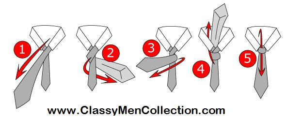 How To Tie A Tie Mens Fashion Guide Classy Men Collection