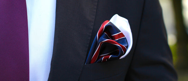 Double Pocket Squares - Classy Men Collection
