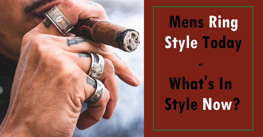 Are mens rings in style