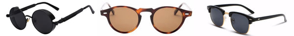Men's Sunglasses Brown & Black - Classy Men Collection