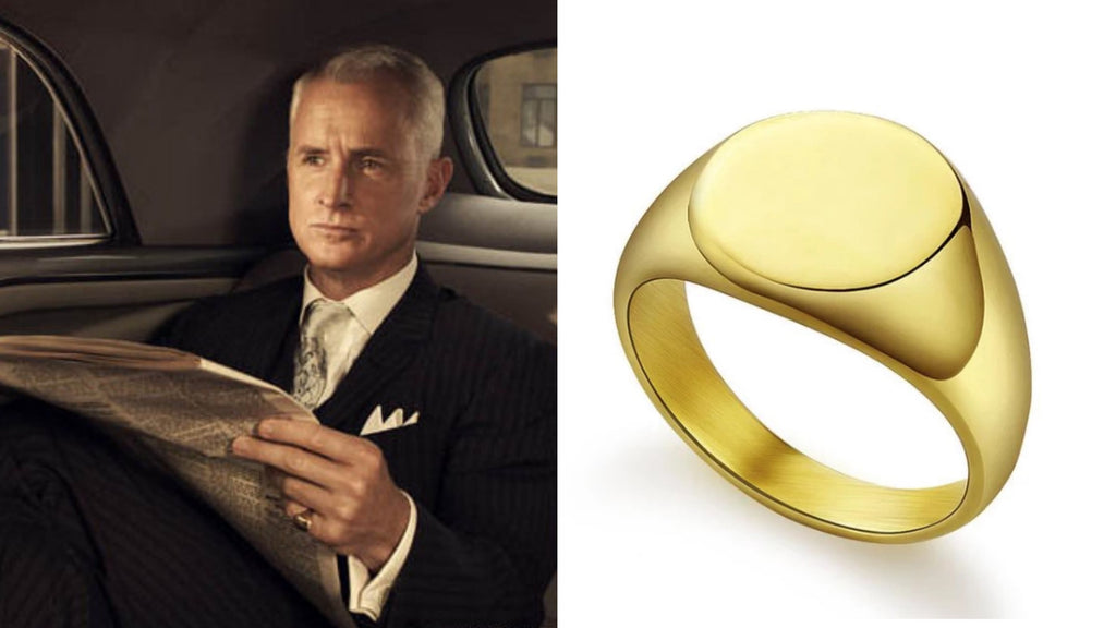 Pinky Ring Of Roger Sterling