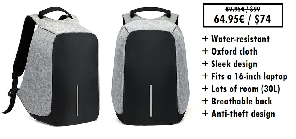 Best anti-theft travel backpack