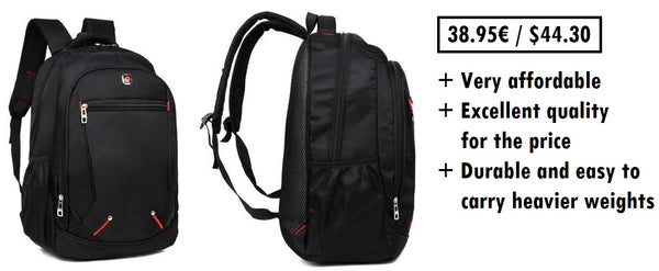 hand luggage backpack for frequent flyers
