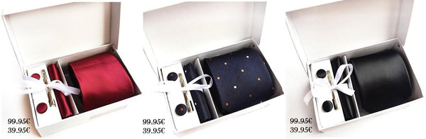Suit accessories full set boxes