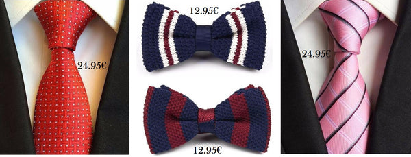 Gift ties and bowties