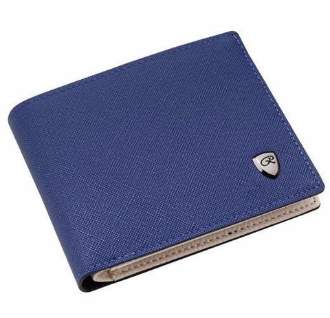 Blue fashion wallet by CMC
