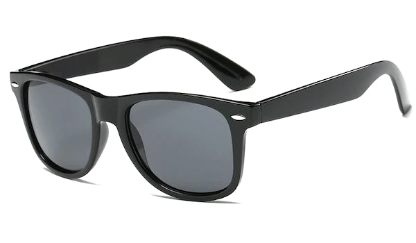 Black standard sunglasses for men