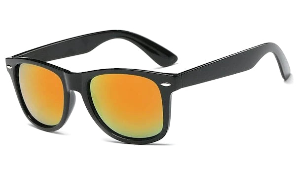 Orange mirror standard sunglasses for men