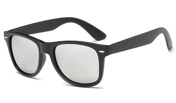 Silver mirror standard sunglasses for men