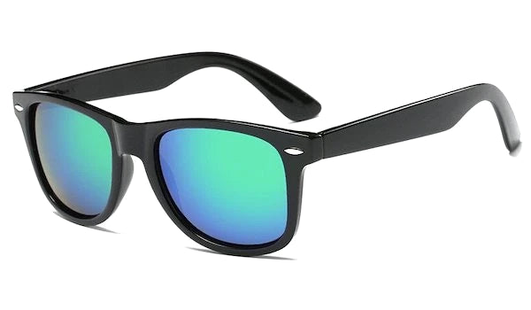 Turquoise mirror standard sunglasses for men